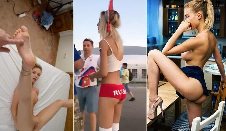 Natalya Nemchinova Sex Tape Porn (Russia Hottest World Cup Fan)